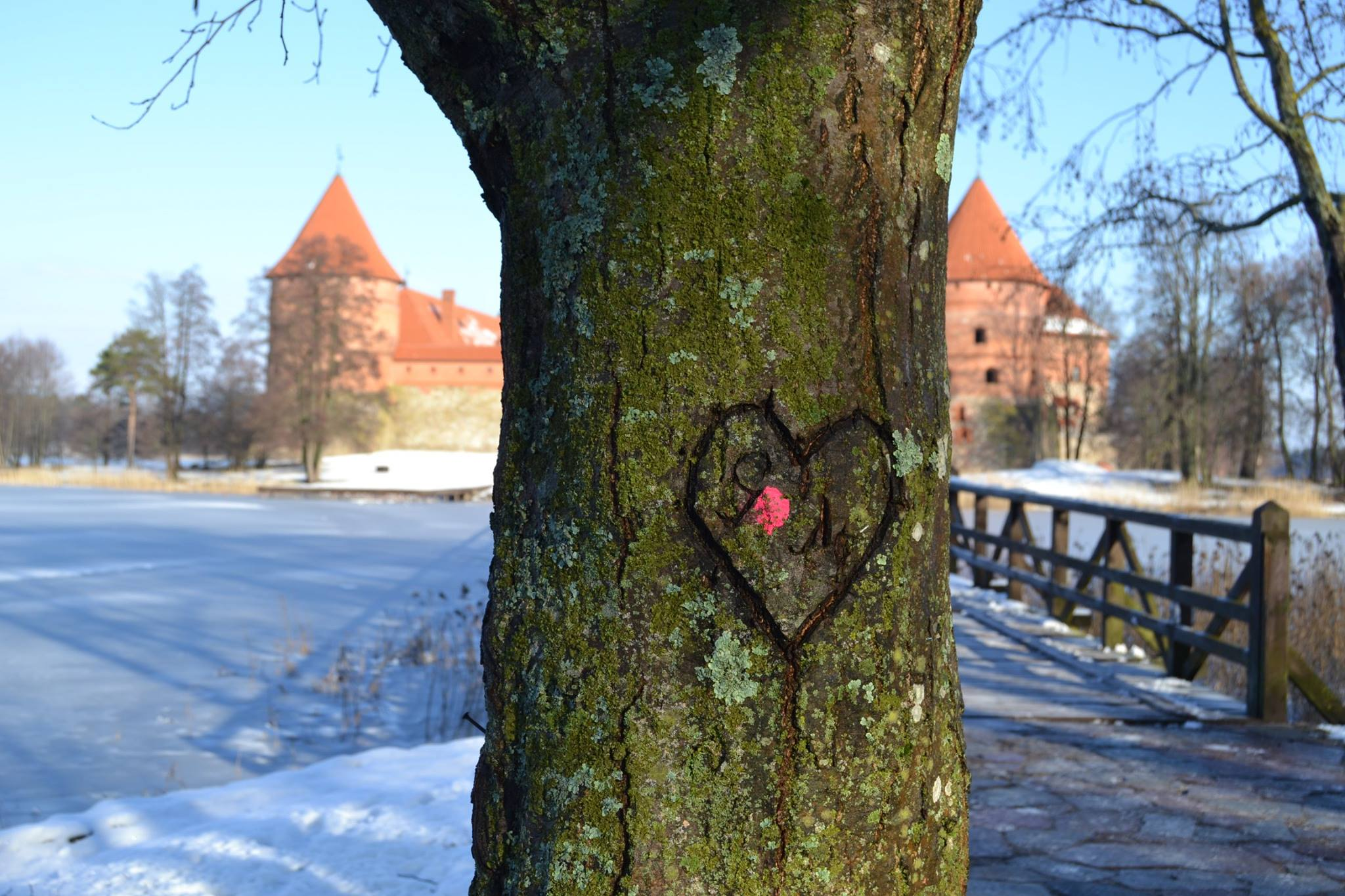 Lithuania Trakai Castle 02.2016