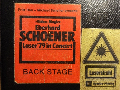 Video Magic : Eberhard Schoener & The Police : Laser '79 in Concert : Backstagepass